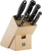 Zwilling Messerblock Twin Chef, 5-teilig