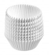 Westmark 200 Muffin Papier-Backförmchen in weiß