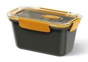 Emsa Bento Box rechteckig in grau/orange 0,9L